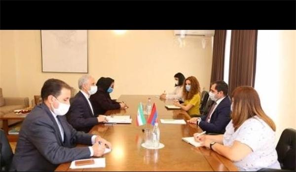 Iran, Armenia Stress Enhancing Mutual Cooperation