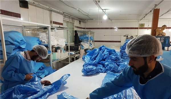 Iran to Fight Coronavirus More Seriously via Increase in Medical, Health Items Production