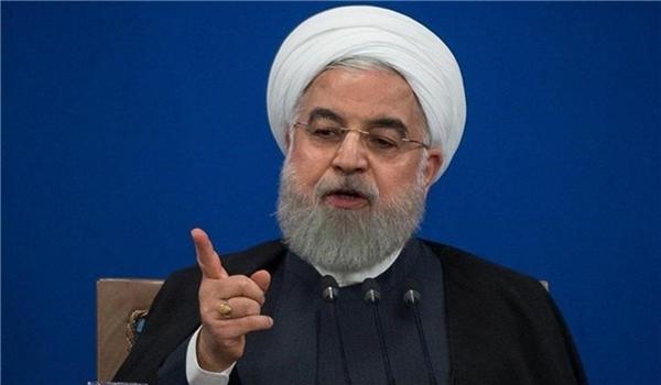 President Rouhani Stresses Failure of Enemies' Pressures