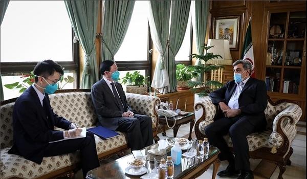 Tehran, Beijing Underline Expansion of Cooperation