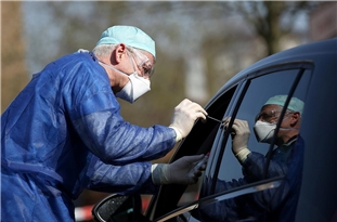 COVID-19 Cases in Germany Near 200,000