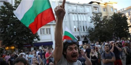 اعتراضات بلغارستان
