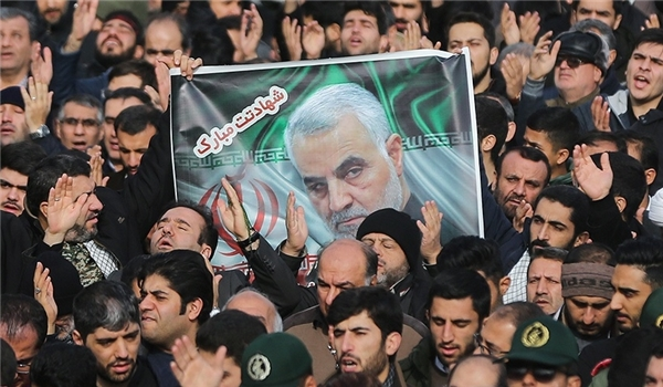 IRGC Commander Vows Harsh Revenge for US Assassination of General Soleimani