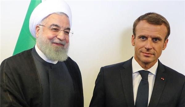 Iranian, French Presidents Hold Talks on Lebanon