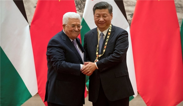 China Says Palestine Question Always Core Issue in Middle East