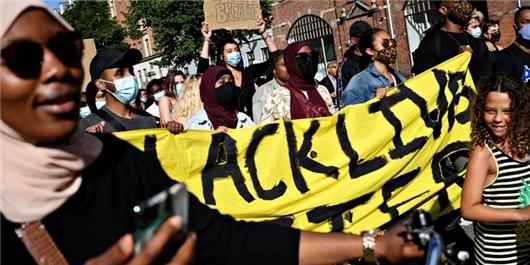 تظاهرات دانمارک