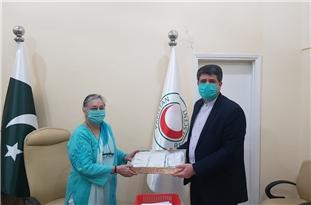 Iran Supplies Pakistan with Coronavirus Safety Kits