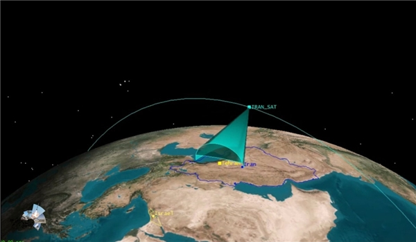 "Iran Releases Aerial Images Captured by IRGC Nour-1 Satellite of US ""Al Udeid Base"" in Qatar"