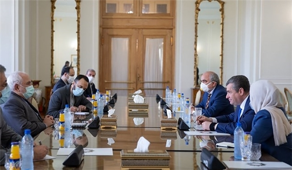 Iranian FM Stresses Updating Long-Term Cooperation Agreement with Russia