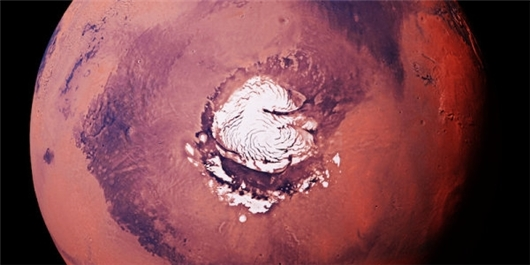 Early Mars Covered in Ice Sheets, Not Rivers?