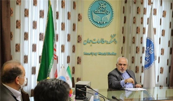 Zarif Terms Big Powers' Miscalculations Main Cause of Surge in Extremism in West Asia