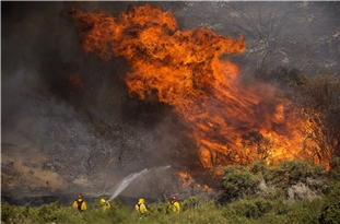 Apple Fire in California Spreads to over 26,000 Acres