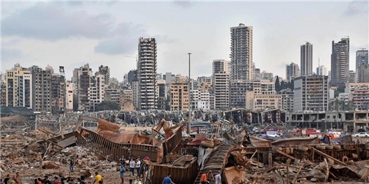 Mayors of Iran's Metropolises Sympathize with Beirut's Counterpart over Tragic Blast