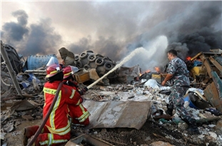 Interior Minister Offers Condolences to Lebanese Counterpart over Beirut Blast