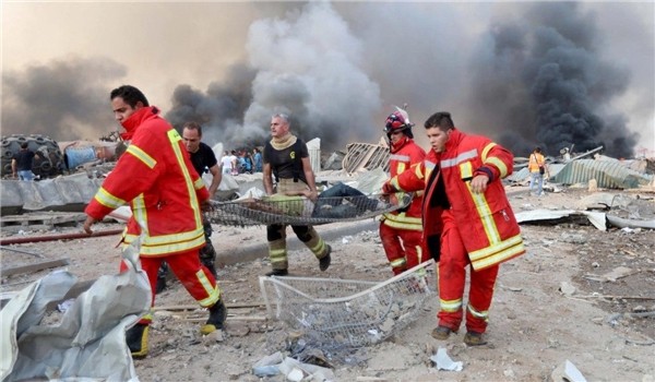 Iran's Red Crescent Ready to help Lebanon over Beirut Explosion