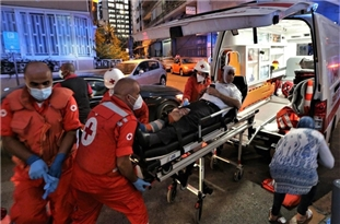 GRAPHIC: Treatment, Observation to Victims of Deadly Beirut Explosion