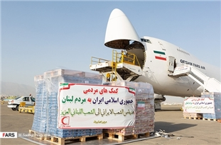 Iran Sends 1st Consignment of Humanitarian Aid to Lebanon
