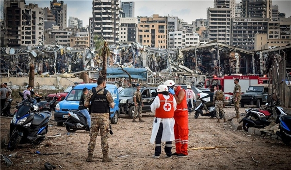 Rescue Operations Continue in Lebanon's Capital as Death Toll Continues to Climb