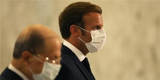 Arab Social Media Users Blast Macron's Visit to Beirut