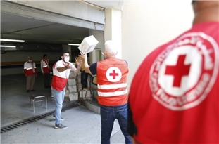 Iran's Red Crescent Delivers 15 Tons of Food to Lebanon