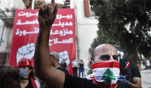 US Supports Unrest in Lebanon in Hope of Regime Change in Blast-Devastated Beirut