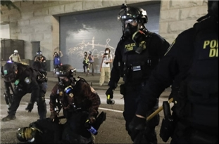 Police Say One Officer Injured, 24 Arrested as Portland Protests Enter 73rd Day