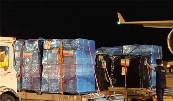 Iran Sends 95 Tons of Aid to Lebanon, Vows to Continue Assistance