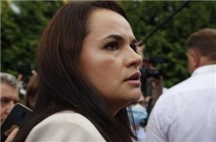 Foreign Ministry Says Belarusian Presidential Candidate Svetlana Tikhanovskaya in Lithuania