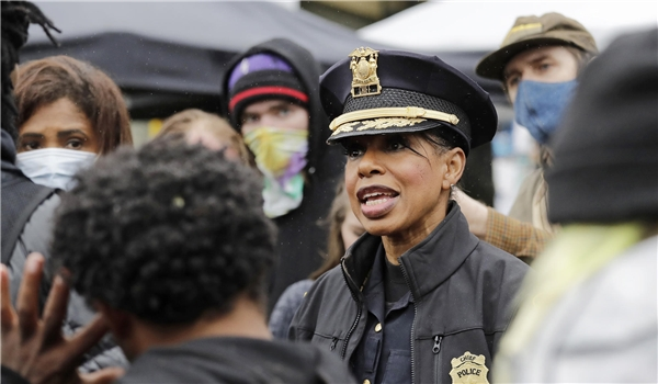 Seattle's First Black Female Police Chief Resigns in Protest Hours After City Council Voted to Defund Their Police, Cut 100 Cops from Force