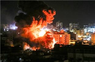 Israel's Overnight Strikes Target Multiple Sites in Besieged Gaza