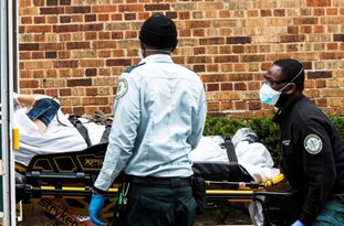 COVID-19 Cases in US Top 6.5mln, Death Toll Surges Past 194,000