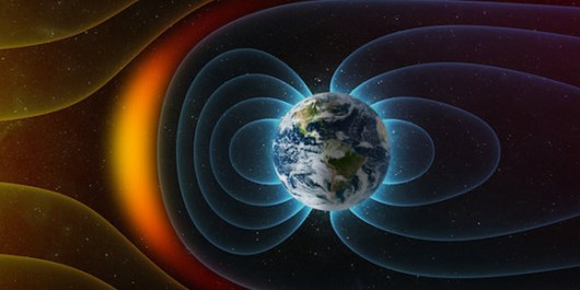 Slowly Splitting 'Dent' in Earth's Magnetic Field