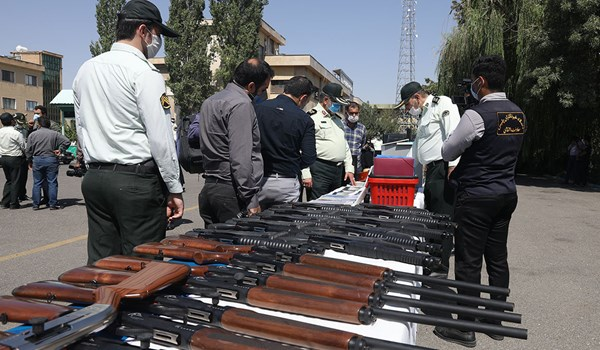Arms-Trafficking Band Dismantled by Intelligence Forces