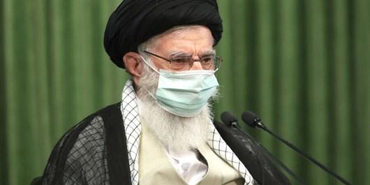Ayatollah Khamenei Participates in Imam Reza (PBUH) Mourning Ceremony