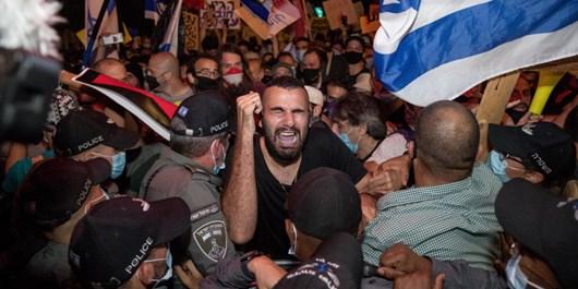 اعتراضات اسراییل سایت انگلیسی