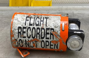 Official: Data of Ukrainian Airliner's Black Box Not for Politicization