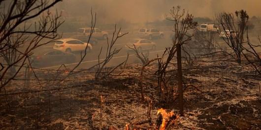 آتش سوزی کالیفرنیا سایت انگلیسی