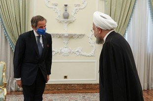 Rouhani Voices Iran's Readiness to Continue Cooperation with IAEA