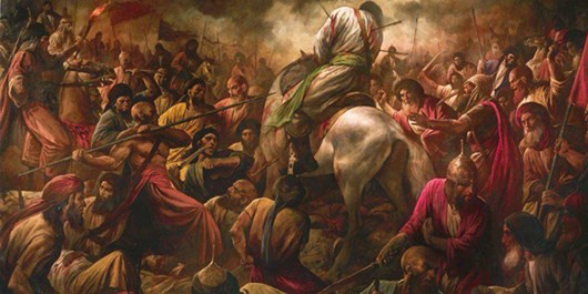 Painting of Muharram: Battle of Karbala
