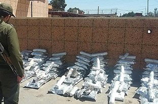 Over 16 Tons of Illicit Drugs Seized in Iran in One Week