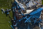 Hurricane Laura Aftermath from Above