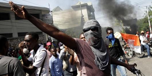 اعتراضات هاییتی
