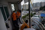 Typhoon Maysak Makes Landfall in South Korea