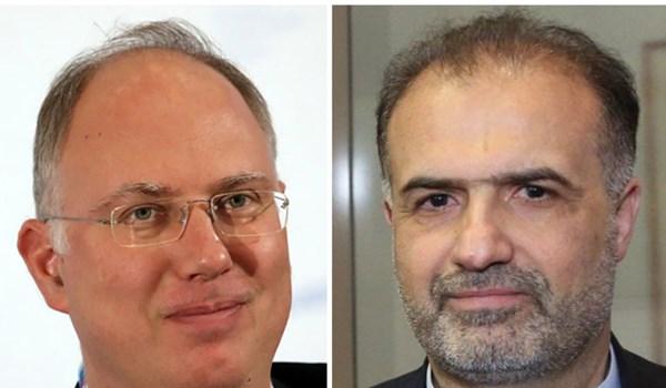 Iran, Russia Discuss Production of COVID-19 Vaccine in Tehran