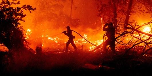 US: Raging Wildfires in California
