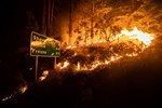 US: Raging Wildfires in California