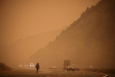 California Wildfire: Wrenching Devastation as 'Fire Is Blowing up Everywhere'