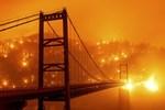 California Fire: Surreal Orange Skies as Wildfire Smoke Blocks Sun in Bay Area