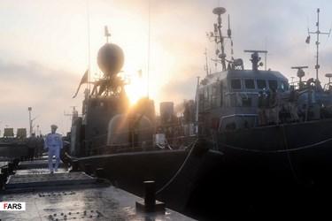 Zolfaqar-99: Naval Parade at End of Iranian Army Military Drill