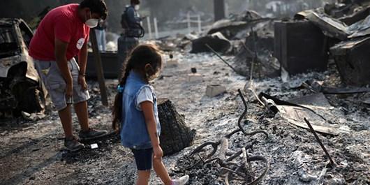 US: Wildfires Ravage Oregon